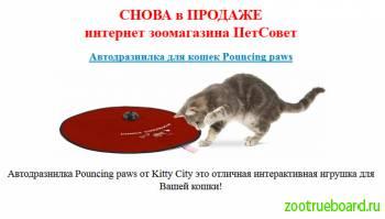 Автодразнилка для кошек Pouncing paws