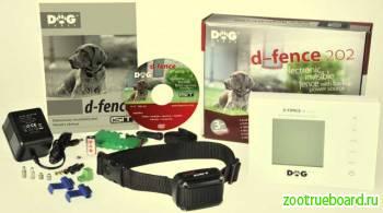 Электрозабор D Fence (невидимая электронная изгородь)  Dog Trace Чехия