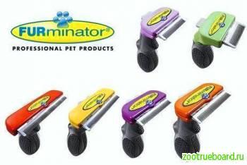 Фурминатор 3-12 см шириной для собак и кошек