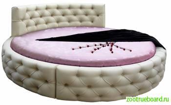 Круглая кровать Аркада в Климовске