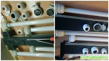 Аквариумные светильники и крышки Ремонт и Модернизация